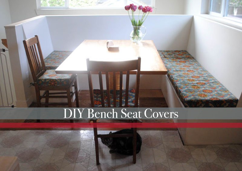 Diy Bench Seat Cushions And Covers Easy Craft And Sew