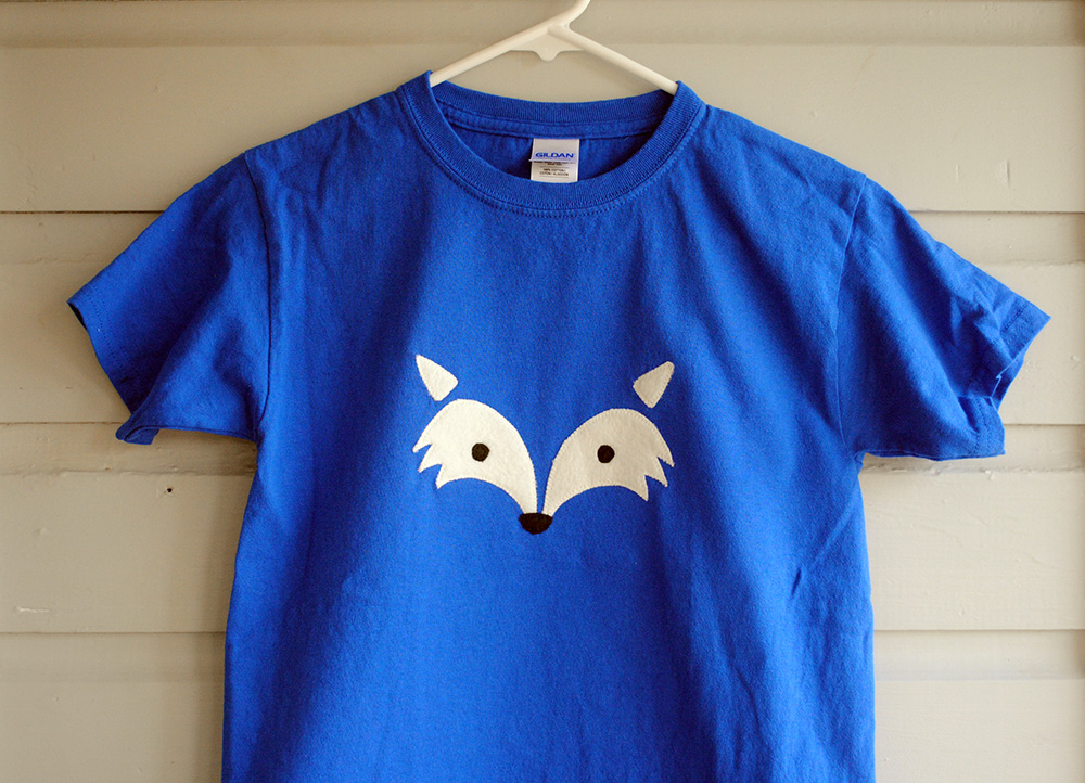 DIY Fox Face Shirt – Easy Craft and Sew